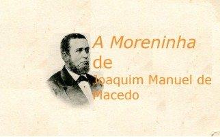 Livro A Moreninha de Joaquim Manuel de Macedo