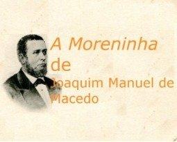 Livro A Moreninha, de Joaquim Manuel de Macedo
