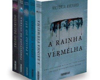 Livro A Rainha Vermelha, de Victoria Aveyard