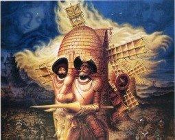 Livro Dom Quixote de Miguel de Cervantes
