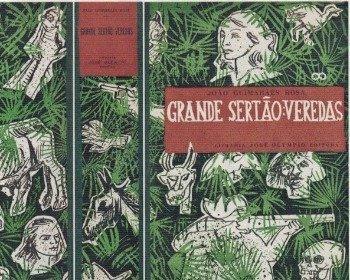 Livro Grande Sertão: Veredas de Guimarães Rosa