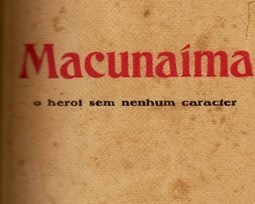 Livro Macunaíma, de Mário de Andrade