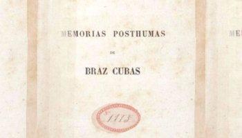 Livro Memórias Póstumas de Brás Cubas, de Machado de Assis
