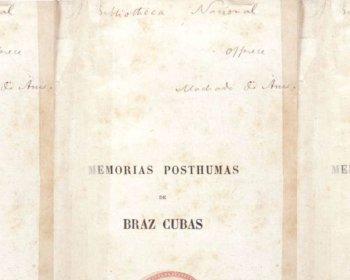 Livro Memórias Póstumas de Brás Cubas de Machado de Assis