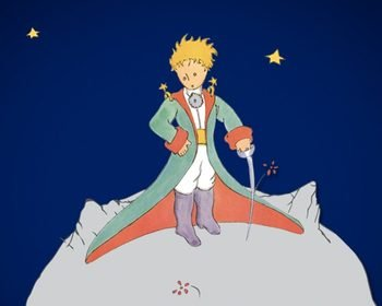 Livro O Pequeno Príncipe, de Saint-Exupéry