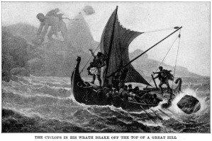Livro Odisseia, de Homero