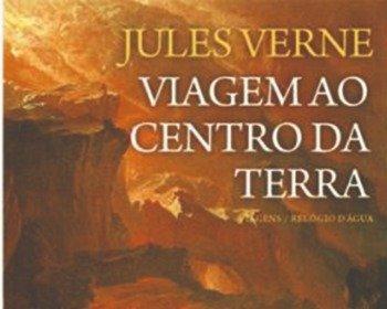 Livro Viagem ao Centro da Terra, de Júlio Verne