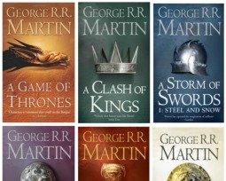 Livros As crônicas de gelo e fogo, de George R. R. Martin