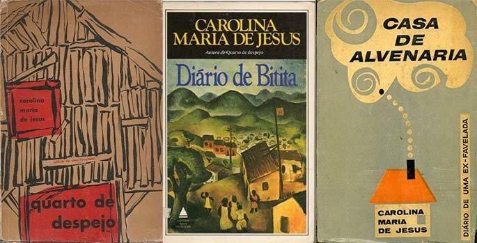 livros de Carolina Maria de Jesus