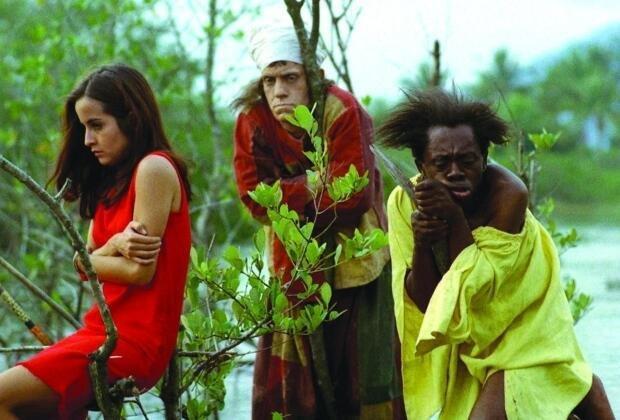 cena do filme Macunaíma