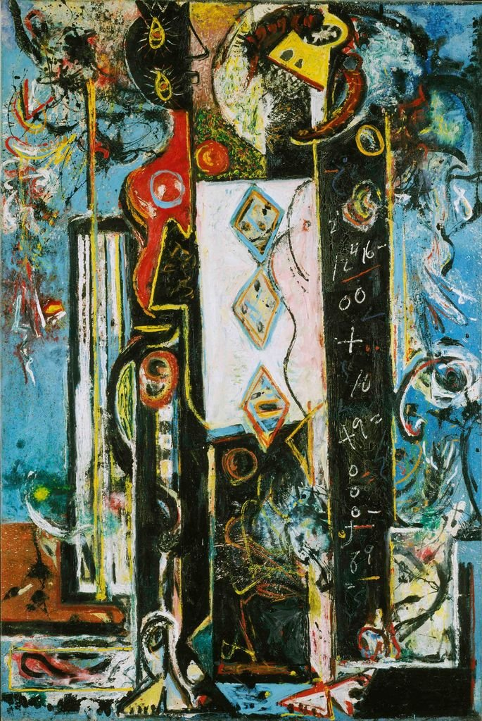 Male and Female de Jackson Pollock (1942)