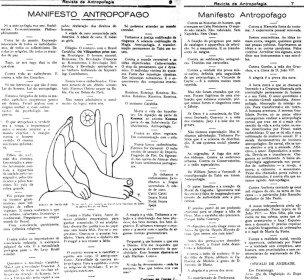 Manifesto Antropófago, de Oswald de Andrade