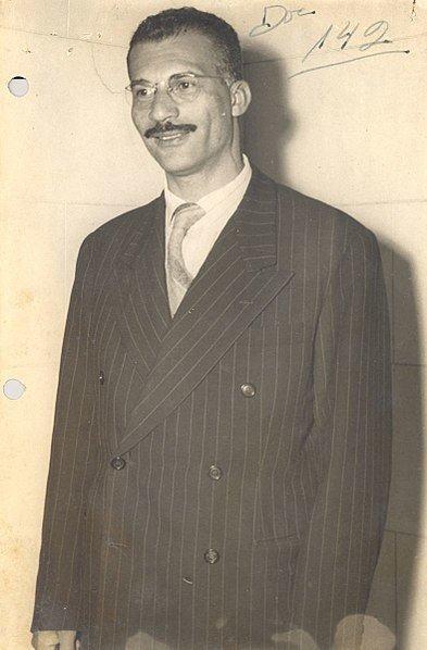 Retrato de Carlos Marighella.