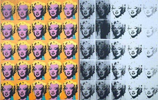 Marilyn Diptych (1962), de Andy Warhol.