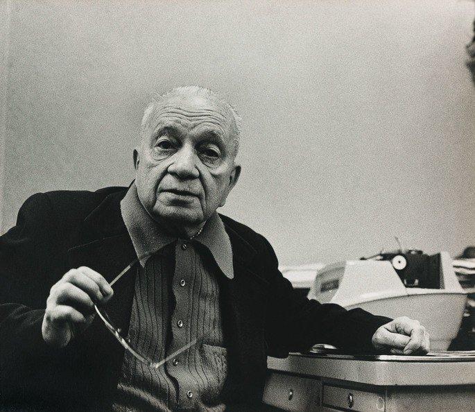 Retrato de Mario Quintana.