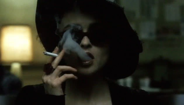 Marla Singer (Helen Bonham Carter) no filme Clube de Luta