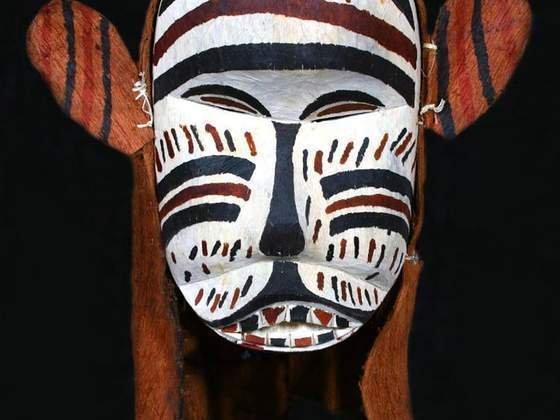 Exemplo de máscara indígena