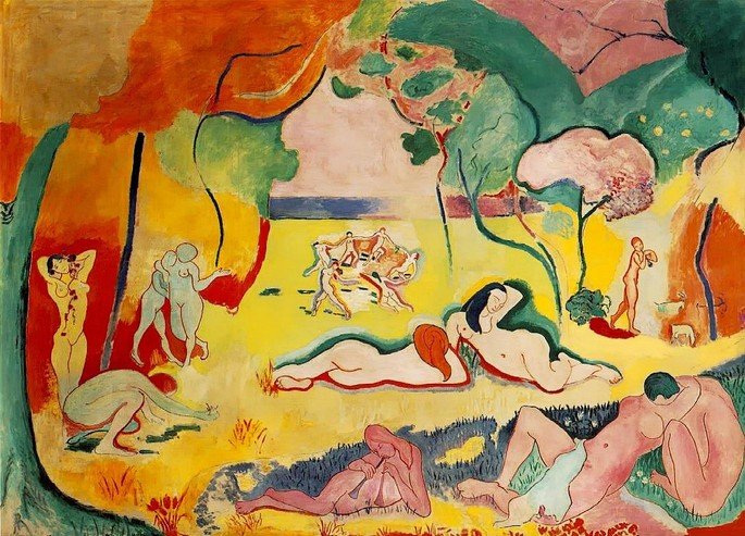 Alegria de viver Matisse