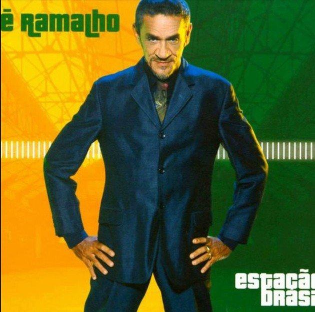 Capa do CD lançado em 2003, uma regravação do primeiro disco solo da carreira de Zé Ramalho.