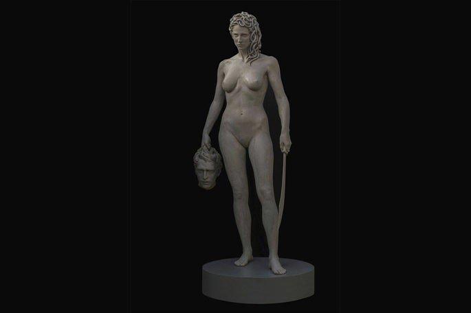 Medusa com a cabeça de Perseu, estátua de Luciano Garbati (2008)