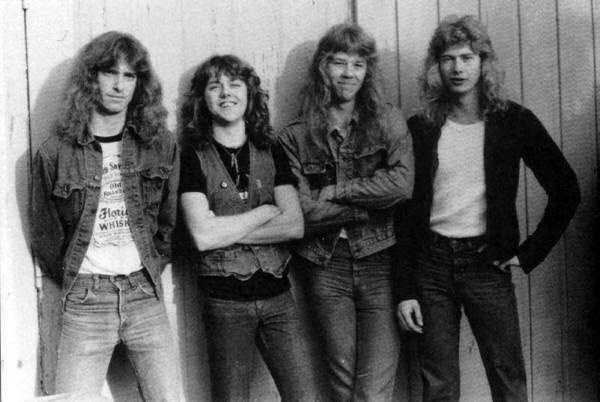 Metallica em 1983.