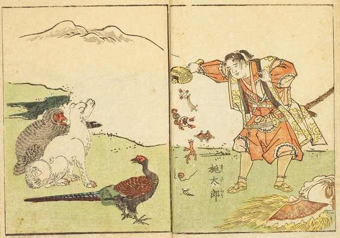 Momotaro, o Menino do Pêssego