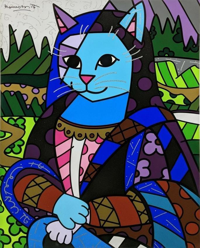 Mona Cat Romero Britto