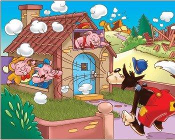 Moral da história dos três porquinhos