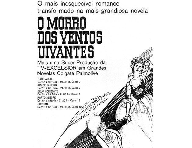 Cartaz da novela