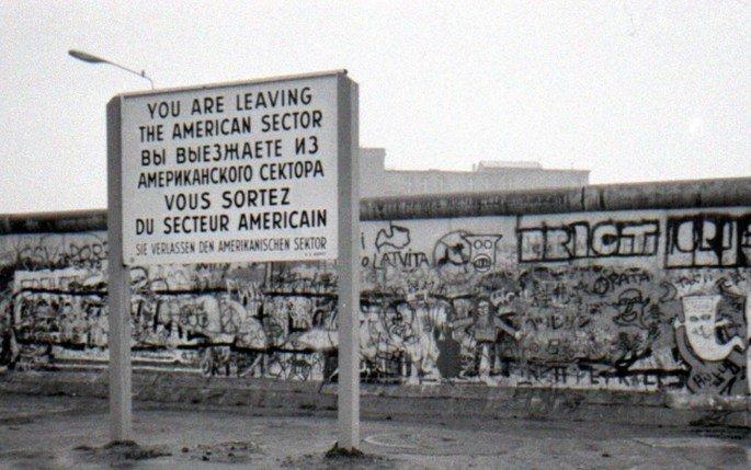 Muro de Berlim: vista do lado Americano (RFA).