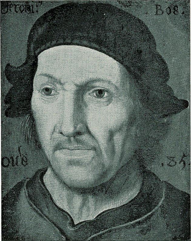 Retrato de Bosch.
