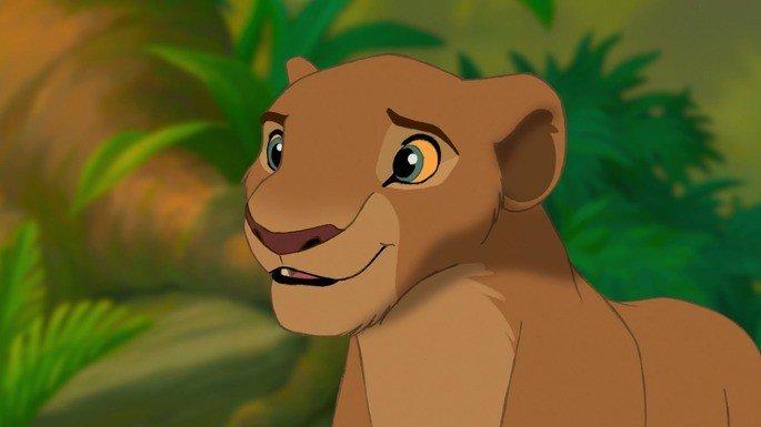 Nala, companheira de Simba