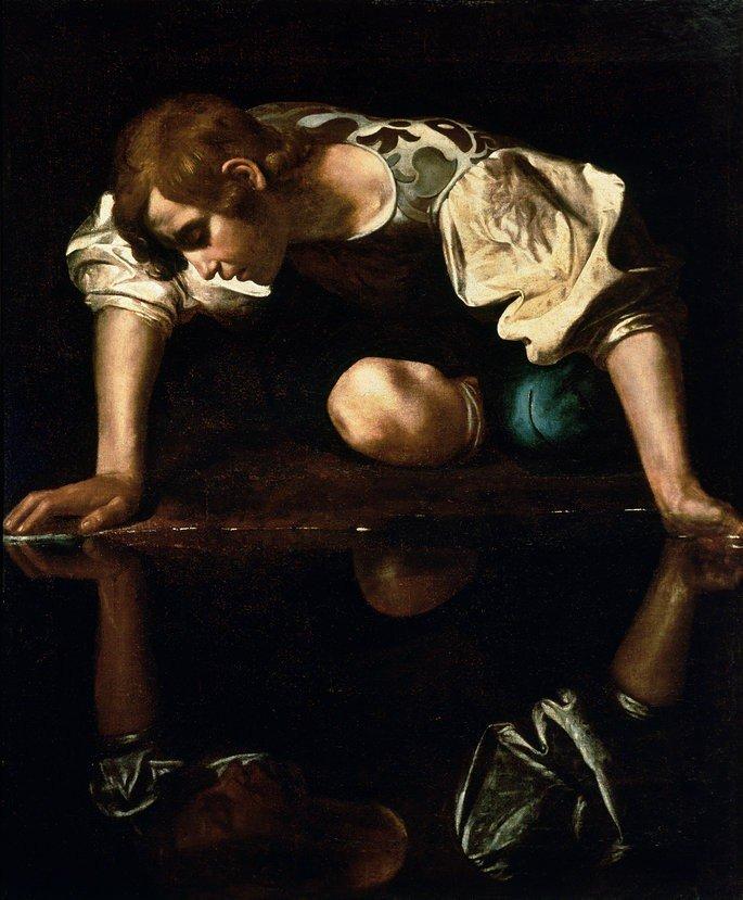 Quadro Narciso.