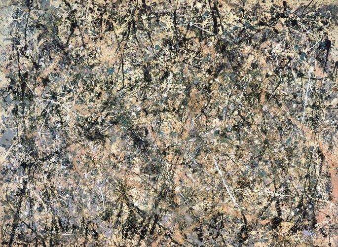 Number 1, Lavender Mist de Jackson Pollock (1950)