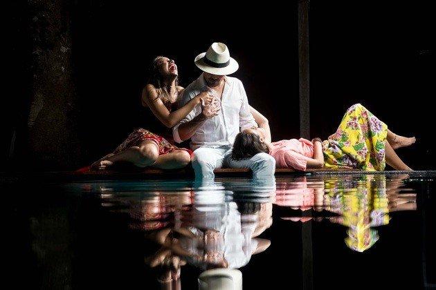 peça de teatro o boto - lendas amazonicas