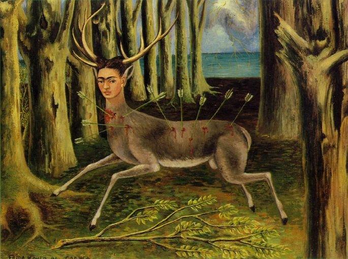 o veado ferido frida kahlo