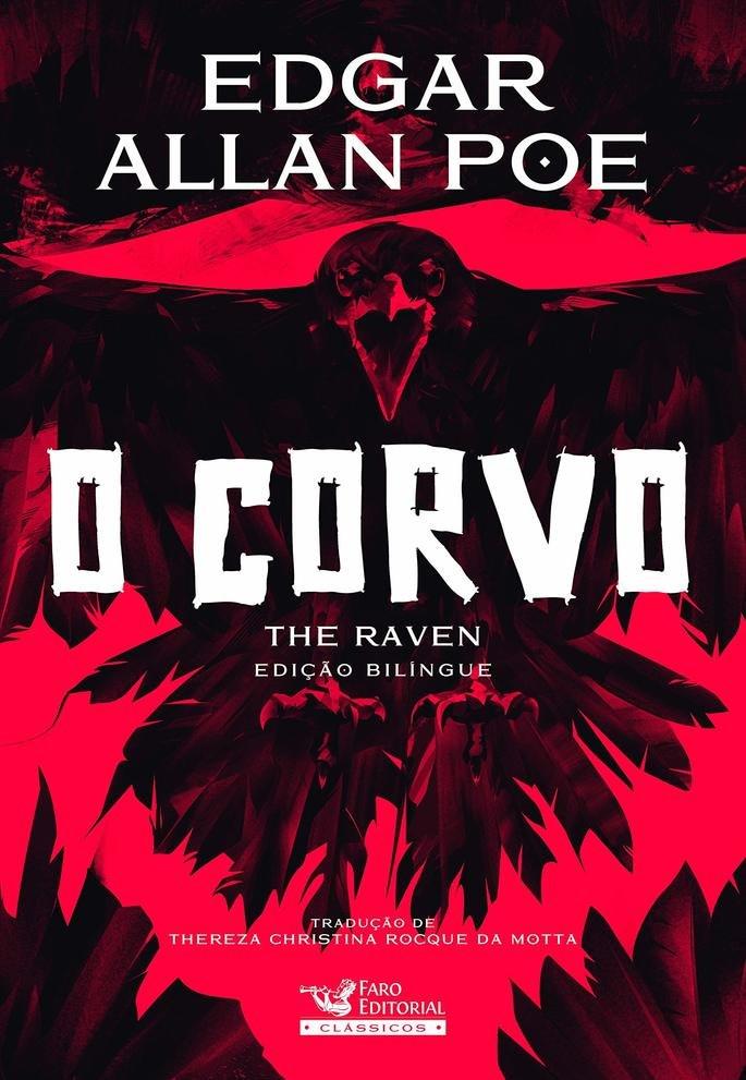 Capa do livro O Corvo.