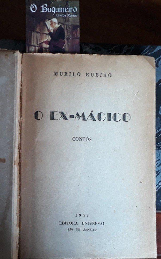 Primeira página da obra Ex Mágico