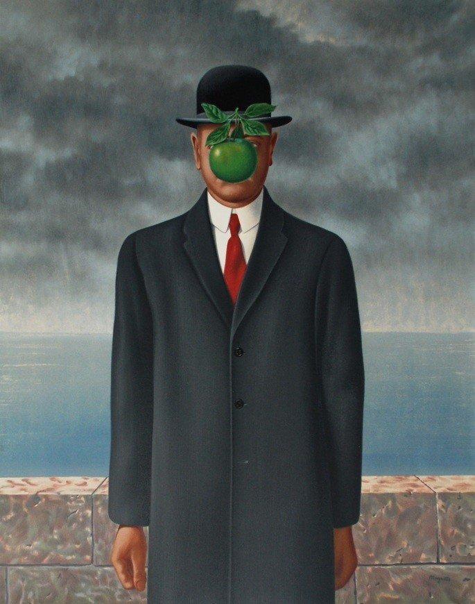 o filho do homem magritte