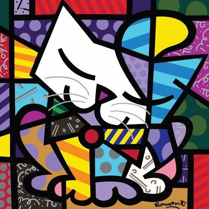 10 Obras Famosas De Romero Britto Cultura Genial