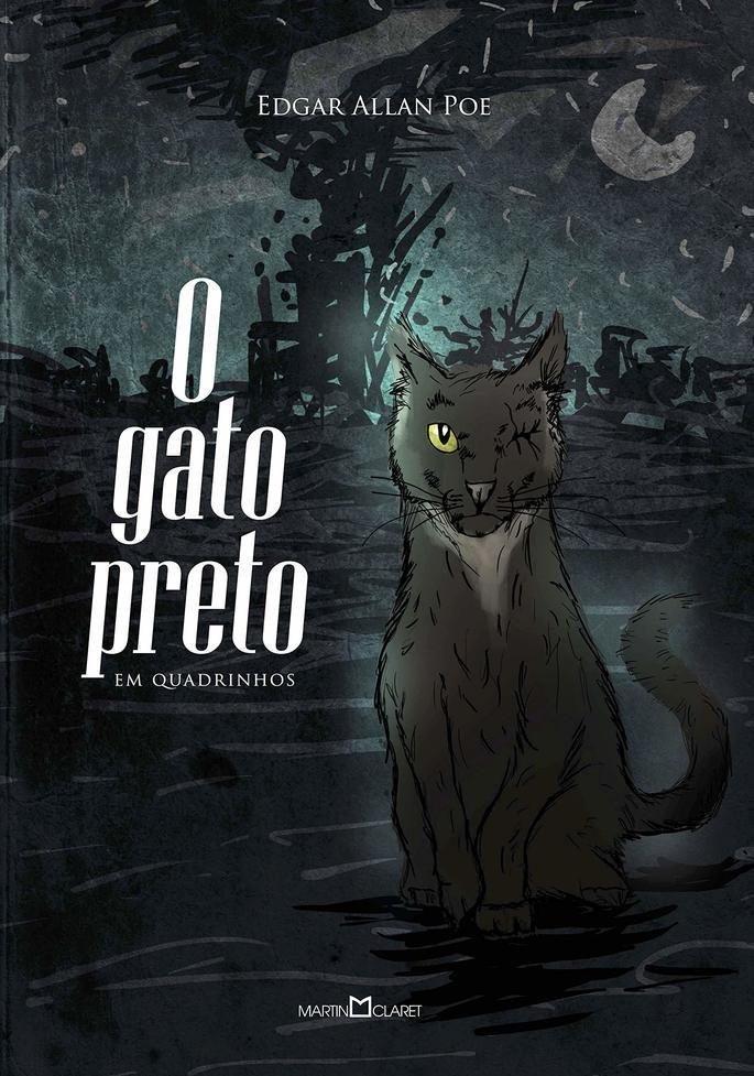 Capa do livro O Gato Preto.