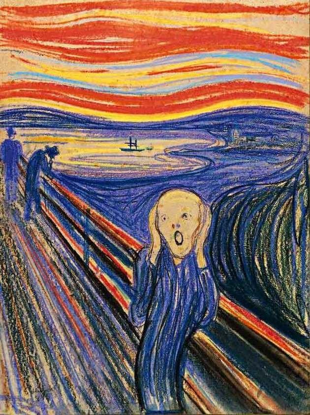 O grito, deEdvard Munch