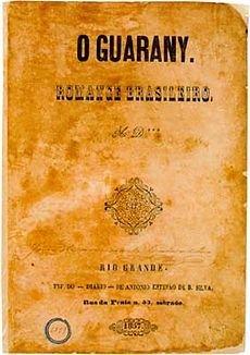 Primeira edição de O guarani.