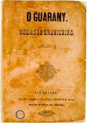 Capa primeira edição o Guarani