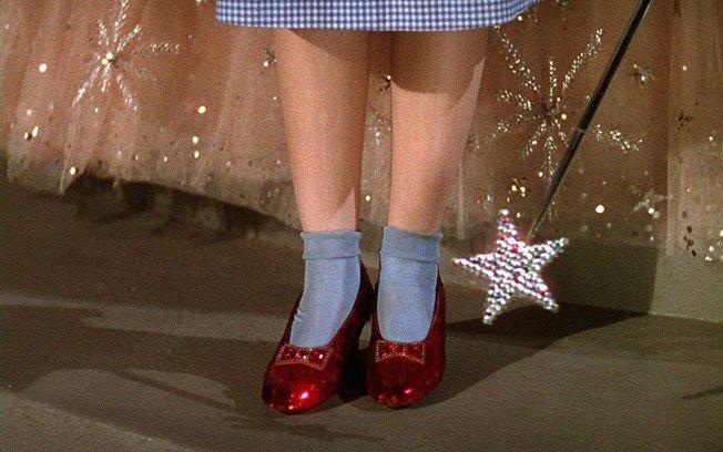 o mágico de oz sapatinhos de rubi