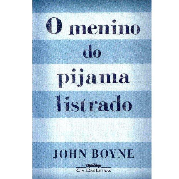 Capa da edição brasileira de O menino do pijama listrado.