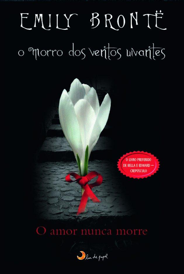 Edição que traz na capa uma referência a Twilight.