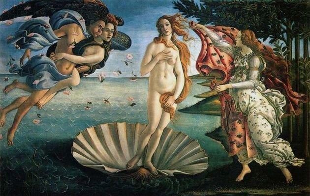 O nascimento da Vênus, SandroBotticelli