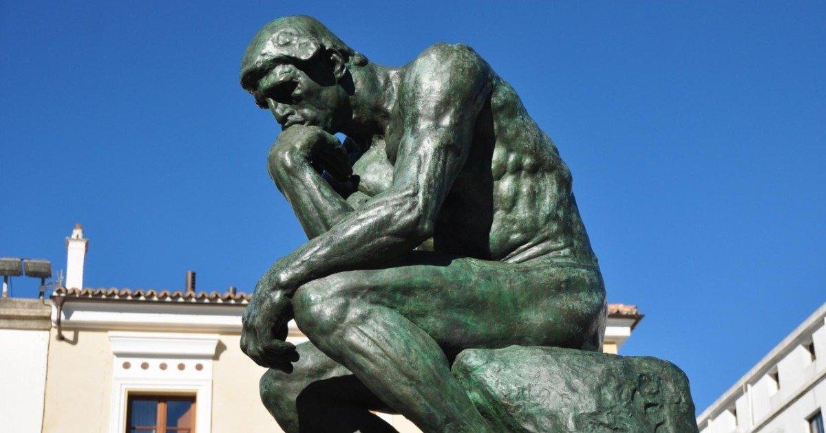 O pensador, de Rodin: história, análise e curiosidades - Cultura Genial