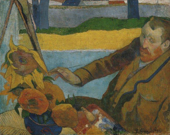 O Pintor de Girassóis